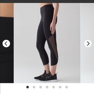 Lululemon Sole Training Crop
